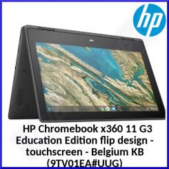 HP Chromebook x360 11 G3 TouchScreen Education Edition flip design 9TV01EA#UUG