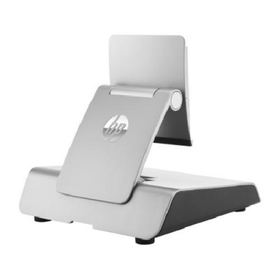 HP P0Q87AA AV equipment Silver Ergonomic Stand - POS stand - for RP9 G1 Retail System 9015, 9018, 9118