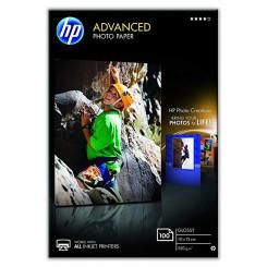 HP Advanced Glossy Inkjet Photo Paper Q8692A - 100 mm X 150 mm Borderless Printing - 250 grams/M2 - 100 Sheets Pack