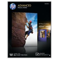 HP Advanced Glossy Inkjet Photo Paper Q8696A - 250Gms/M2 - 13 cm X 18 cm - 25 Sheets