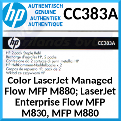 HP CC383A Original Staple Cartridge (2 X 2000 Pins) for HP Color LaserJet Enterprise cm6040, cp6015, M806, M855, M880