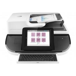 HP Digital Sender 8500fn2 Sheetfed Scanner - 600 dpi Optical - 24-bit Color - 8-bit Grayscale - 100 ppm (Mono) - 100 ppm (Color)