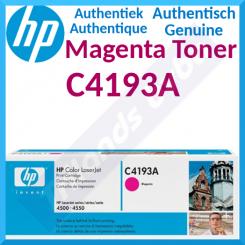 HP C4193A Magenta Original LaserJet Toner Cartridge (6000 Pages) for HP Color LaserJet 4500 Series, Color LaserJet 4550 Series