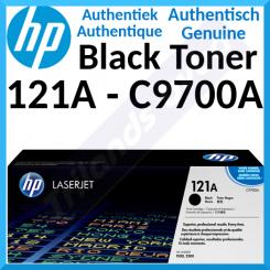 HP 121A Black Original LaserJet Toner Cartridge C9700A (5000 Pages) for HP Color LaserJet 1500, 1500L, 1500Lxi, 2500, 2500L, 2500Lse, 2500n, 2500tn