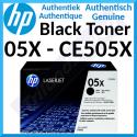 HP 05X High Capacity Black LaserJet Original Toner Cartridge CE505X (6500 Pages) for HP LaserJet P2054X, P2055d, P2055dn, P2055n, P2055X, P2056d, P2056dn, P2056n, P2057dn, P2057n, P2057X