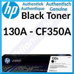 HP 130A Black Original LaserJet Toner Cartridge CF350A (1300 Pages) for HP Color LaserJet Pro MFP M176n, MFP M177fw
