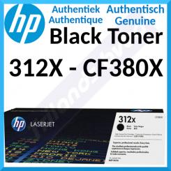 HP 312X High Capacity Black Original LaserJet Toner Cartridge CF380X (4400 Pages) for HP Color LaserJet Pro MFP M476dn, MFP M476dw ,MFP M476nw