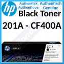 HP 201A Black Original LaserJet Toner Cartridge CF400A (1500 Pages) for HP Color LaserJet M277dn, Color LaserJet Pro M252dn, M252dw, M252n, MFP M274n, MFP M277dw, MFP M277n