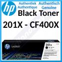 HP 201X Black High Capacity Original LaserJet Toner Cartridge CF400X (2800 Pages) for HP Color LaserJet M277dn, Color LaserJet Pro M252dn, M252dw, M252n, MFP M274n, MFP M277dw, MFP M277n