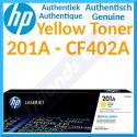 HP 201A Yellow Original LaserJet Toner Cartridge CF402A (1400 Pages) for HP Color LaserJet M277dn, Color LaserJet Pro M252dn, M252dw, M252n, MFP M274n, MFP M277dw, MFP M277n