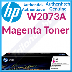 HP 117A Magenta Original Toner Cartridge W2073A (700 Pages) for HP Color Laser 150a, 150nw, MFP 178nw, MFP 178nwg, MFP 179fnw
