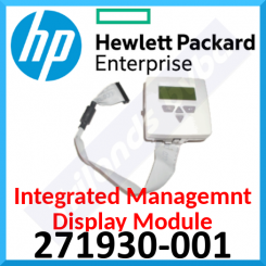 HPE Integrated Managemnt Display Module 271930-001 - Complete with Cable, Disk, Manual