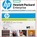 HP C5707A DDS-2 Data Tape Cartridge - 4 GB / 8 GB Read / Write Cartridge (120 Meters)