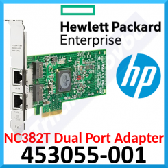 HPE NC382T Dual Port (2 X RJ45) PCIe GB Network Adapter 453055-001