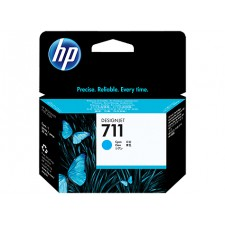 HP 711 Cyan Original Ink Cartridge CZ130A (29 ML) for HP DesignJet T120, T120e, T520, T520e