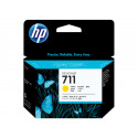 HP 711 3-pack 29-ml Yellow Original Ink Cartridges CZ136A for HP DesignJet T120, T120e, T520, T520e