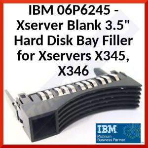 """IBM 06P6245 - Xserver Blank 3.5"""" Hard Disk Bay Filler for Xservers X345, X346"""