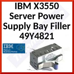 IBM X3550 Server Power Supply Bay Filler 49Y4821