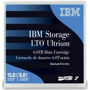 IBM LTO-7 Data Tape 38L7302 - 6 TB / 15 TB Read / Write Ultrium7 Tape Cartridge