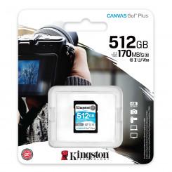 512GB SDXC Canvas 170R C10 UHS-I U3 V30