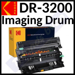 DR-3200 Kodak 185B320056 Imaging Drum (25000 Pages) for Brother DCP-8070D, DCP-8085DN, HL-5340D, HL-5340DL, HL-5350DN, HL-5350DN2LT, HL-5350DNLT, HL-5370DW, HL-5370DWT, HL-5380DN, HL-5380DN Praxis, MFC-8370DN, MFC-8380DN, MFC-8880DN, MFC-8890DW