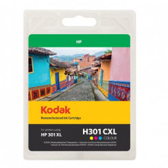 Kodak 185H030131 High Capacity CMY TriColor Ink Cartridge (18 Ml.) - (HP 301XL TriColor - HP CH564EE)