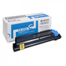 Kyocera TK-590C Cyan Original Toner Cartridge (5000 Pages)  for Kyocera FS-C2016, FS-C2026 mfp, FS-C2026+ mfp, FS-C2126 mfp, FS-C2126+ mfp, FS-C2526 mfp, FS-C2626 mfp, FS-C5250DN - ECOSYS M6026cdn, M6526cdn, P6026cdn