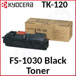 Kyocera TK-120 Black Original Toner Cartridge (7200 Pages) - New - Original Packing - Stock Clearance