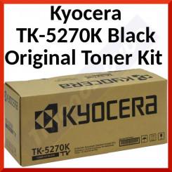 Kyocera TK-5270K Black Original Toner Kit 1T02TV0NL0 (8000 Pages)