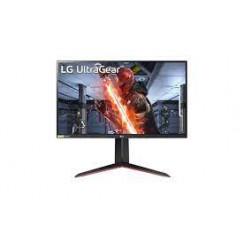 """LG UltraGear 27GN650-B - LED monitor - 27"""" - 1920 x 1080 Full HD (1080p) @ 144 Hz - IPS - 300 cd/m - 1000:1 - 1 ms - 2xHDMI, DisplayPort - matte black"""