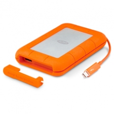 LaCie 1TB Rugged Mini Hard drive 301558 - 1 TB - external ( portable ) - USB 3.0 - 5400 rpm