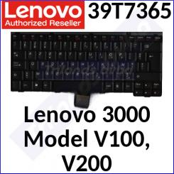 Lenovo 3000 Replacement Genuine Keyboard 39T7365 (Azerty Belgium) for Lenovo 3000 Model V100, V200