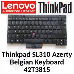 Lenovo ThinkPad Genuine Replacemant Keyboard 42T3815 (Azerty-Belgium) for Thinkpad SL310