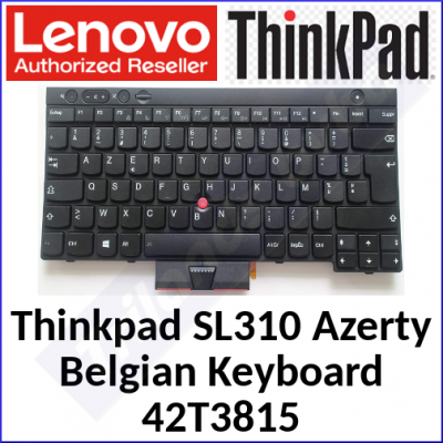Lenovo ThinkPad Genuine Replacemant Keyboard 42T3815 (Azerty-Belgium) for Thinkpad SL310