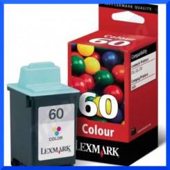 Lexmark 60 Tri-Color Ink Original Cartridge 17G0060E (225 Pages)