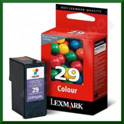 Lexmark 29 Tri-Color Ink Original Cartridge 18C1429E (150 Pages)