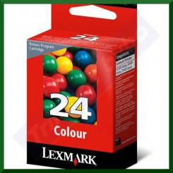 Lexmark 24 Tri-Color Original Ink Cartridge 18C1524E (185 Pages)