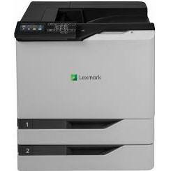Lexmark CS820dte - Printer - colour - Duplex - laser - A4/Legal - 1200 x 1200 dpi - up to 57 ppm (mono) / up to 57 ppm (colour) - capacity: 1200 sheets - USB 2.0, Gigabit LAN, USB 2.0 host