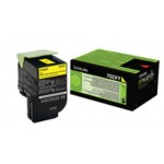 Lexmark 702XY Yellow Return Program High Capacity Original Toner Cartridge 70C2XY0 (4000 Pages) for Lexmark CS510de, CS510dte