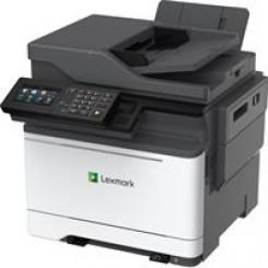 Lexmark CX622ade Laser Multifunction Printer - Colour - Copier/Fax/Printer/Scanner - 38 ppm Mono/38 ppm Color Print - 2400 x 600 dpi Print - Automatic Duplex Print - 1200 dpi Optical Scan - 251 sheets Input - Gigabit Ethernet