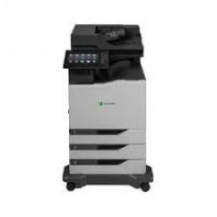 Lexmark CX860dte - Multifunction printer - colour - laser - Legal (216 x 356 mm)/A4 (210 x 297 mm) (original) - A4/Legal (media) - up to 57 ppm (copying) - up to 57 ppm (printing) - 1750 sheets - 33.6 Kbps - USB 2.0, Gigabit LAN, USB host