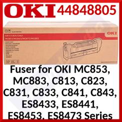 Oki 44848805 Original Fuser 220V (100000 Pages) for Oki C811dn, C811n, C831dn, C831n, C841dn, C840n, MC853dn, MC853dnct, MC853dnnv, MC863dn, MC863dnct, MC863dnnv, MC873dn, MC873dnct, MC873dnnv, MC883dn, MC883dnct, MC883dnnv