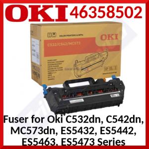 Oki 46358502 Original Fuser 220V (60000 Pages) for Oki C532dn, C542dn, MC573dn, ES5432, ES5442, ES5463, ES5473