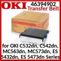Oki 46394902 Original Transfer Belt (60000 Pages) for OKI C532dn, C542dn, MC563dn, MC573dn, ES 5432dn, ES 5473dn