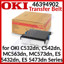 Oki 46394902 Original Transfer Belt (60000 Pages) for OKI C532dn, C542dn, MC563dn, MC573dn, ES 5432dn, ES 5473dn