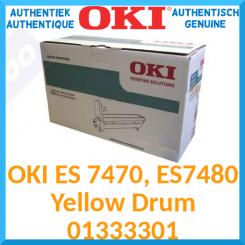 Oki 01333301 Yellow Original Imaging Drum (30000 Pages) for OKI ES 7470dfn, ES 7470dn, ES 7480dfn