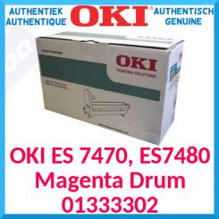 Oki 01333302 Magenta Original Imaging Drum (30000 Pages) for OKI ES 7470dfn, ES 7470dn, ES 7480dfn
