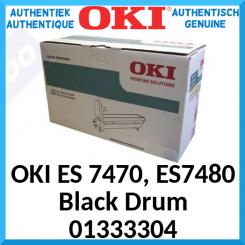 Oki 01333304 Black Original Imaging Drum (30000 Pages) for OKI ES 7470dfn, ES 7470dn, ES 7480dfn