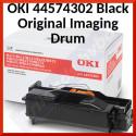 Oki 44574302 Black Original Imaging Drum (25000 Pages) for Oki B411, B431, MB461, MB471, MB491, B412, B432, B512dn, MB472dn, MB492, MB562 Series