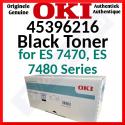 OKI 45396216 Black ES Original Toner Cartridge (15000 Pages) for Oki ES 7470, ES 7480